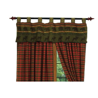 Wooded River McWoods I Tab Top Tailored Curtain Valance
