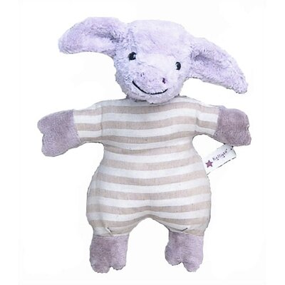 Challenge & Fun Kallisto Pig Baby Rattle Organic Stuffed Animal