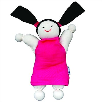 Challenge & Fun Keptin-Jr Organic Caucasian Girly Doll in Pink