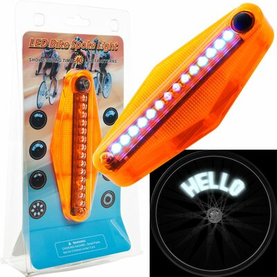 TG LED Bike Spoke Message Light