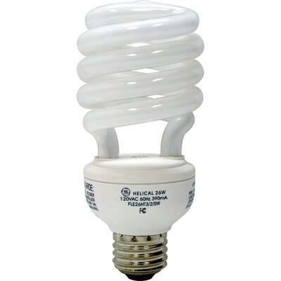 GE 26W Energy Smart Daylight CFL Light Bulb