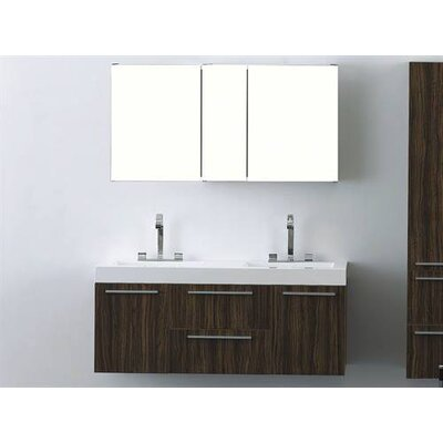 "James Martin Furniture Griffen 54.5"" Double Bathroom Vanity"