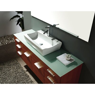 "James Martin Furniture Ranae 60"" Single Bathroom Vanity Set"