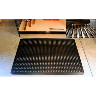 Mats Inc. Cloud Nine  2' x 3' Ergonomic Mat in Black