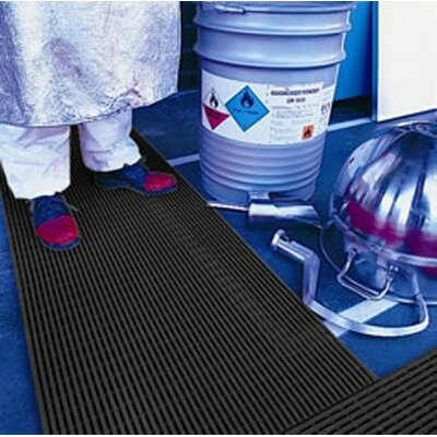 Mats Inc. Ergorunner 3' x 5' Safety and Comfort Matting in Black