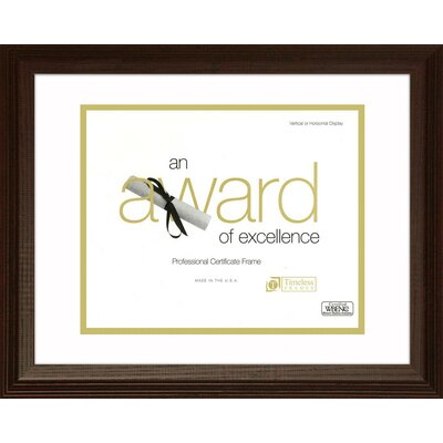Englewood Document and Award Frame