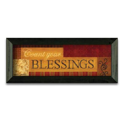 Timeless Frames Count Your BlessIngs Art Print Wall Art