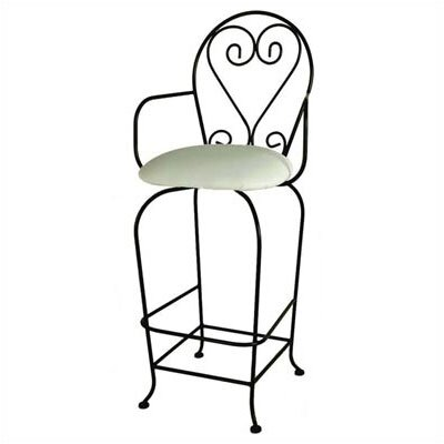 Grace Collection French Quarter Barstool w/ Arms