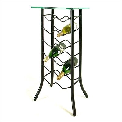 Grace Collection 12 Bottle Wine Rack