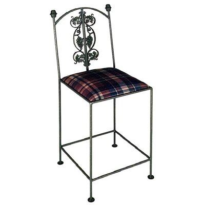 Grace Collection Vineyard Counter Stool