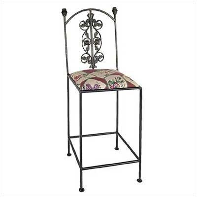 Grace Collection Rose Bar Side Chair
