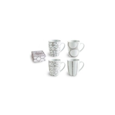 Rosanna Rue Du Bac 11 oz Mug (Set of 4)