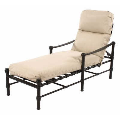 Suncoast Heritage Cushion Chaise Lounge