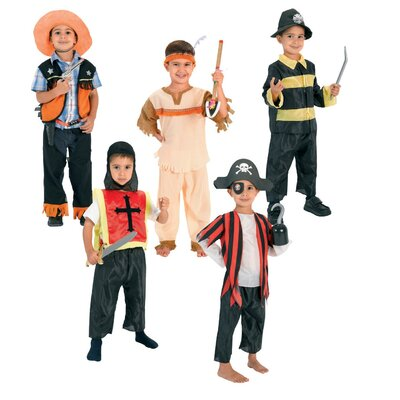 Pinnacle Import Dress Up for Boys Hero Adventure Trunk