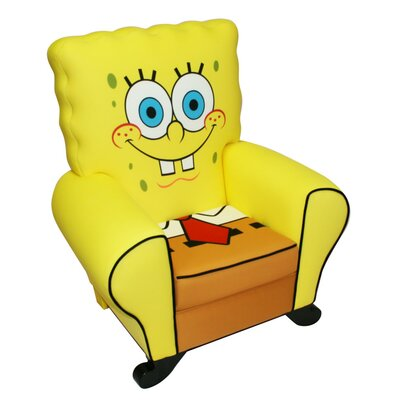 Harmony Kids Nickelodeon SpongeBob Square Pants Kid's Club Chair