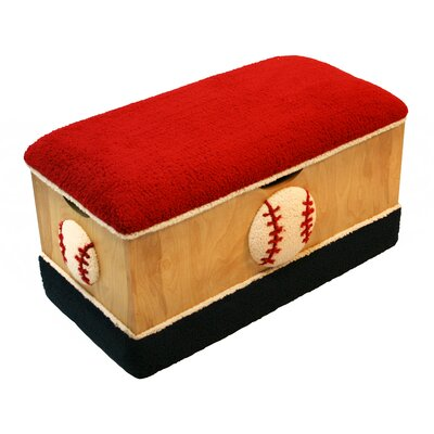 Harmony Kids Magical Baseball Wooden Toy Box