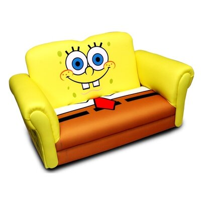 Harmony Kids Nickelodeon Sponge Bob Square Pants Deluxe Kid's Rocking Sofa