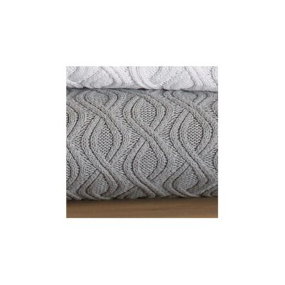 Peacock Alley Marbella Wavy Cable Throw