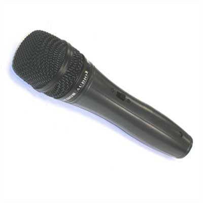 Anchor Audio Carioid Pattern Handheld Mic with 1/4&quot; phone plug