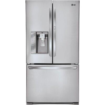 Energy Star 31 Cu. Ft. Super Capacity Door-in-Door French Door Refrigerator