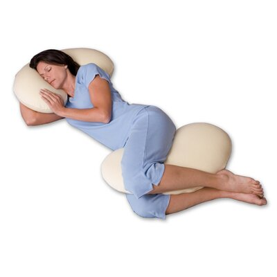 Snoozer Body Pillow Big Curve 500 Thread Count Ergonomic Body Pillow