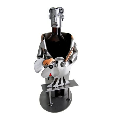 H & K SCULPTURES Veterinarian Wine Caddy