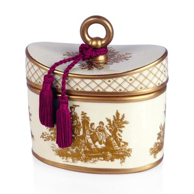 Seda France Classic Toile Citron Du Sud Ceramic Candle
