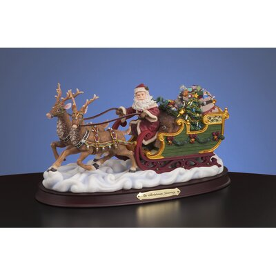 San Francisco Music Box Christmas Journey Figurine