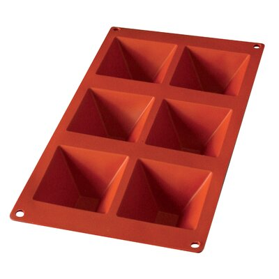 Lekue 6 Cavity Pyramid Mold