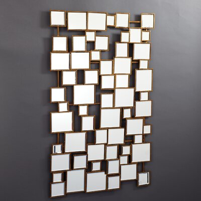 Tozai Facets Square Wall Mirror
