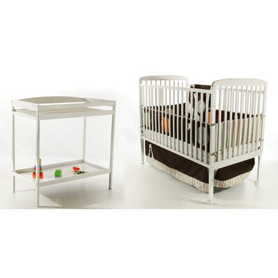 Dream On Me 2-in-1 Full Size Crib and Changing Table Combo