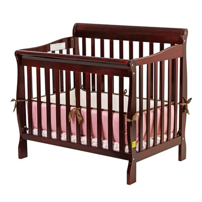 Dream On Me Aden Convertible 3 in 1 Mini Crib