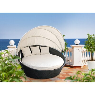 Modway Siesta Outdoor Canopy Bed with Cushions