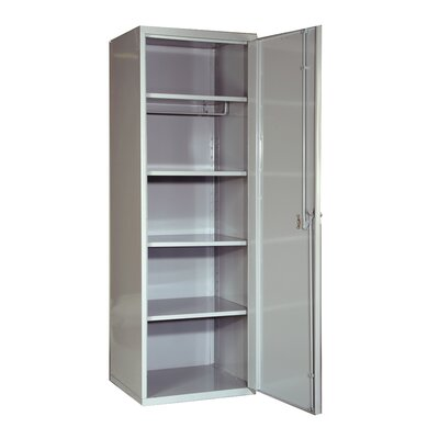 Hallowell SecurityMax High Security Welded Locker in Platinum (Assembled)