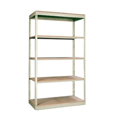 Hallowell Rivetwell Single Rivet Boltless Shelving 5 Levels Add-on