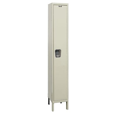 Hallowell Maintenance-Free Quiet Locker Single Tier 1 Wide (Assembled)