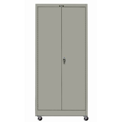 Hallowell 400 Series Mobile Solid Assembled Storage Cabinet