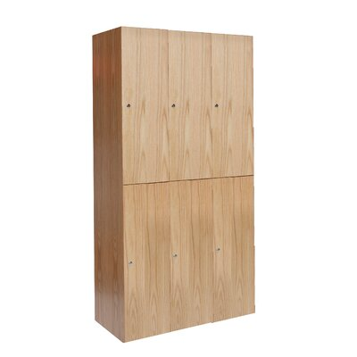 Hallowell All-Wood Club Assembled Locker