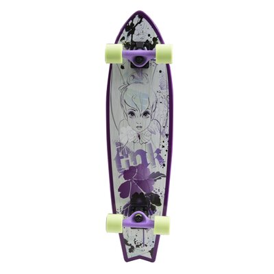 "Bravo Sports Disney Fairies So Tink 31"" Complete Longboard"