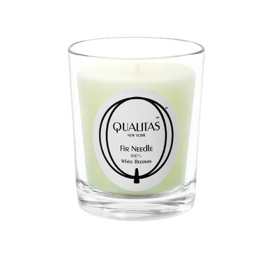 Qualitas Candles Beeswax Fir Needle Scented Candle