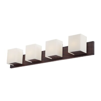 Alternating Current FeeFiFaux 4 Light Bath Vanity / Wall Sconce