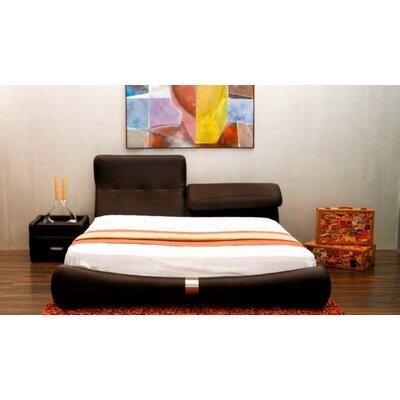 Casabianca Furniture Luxe King Platform Bed