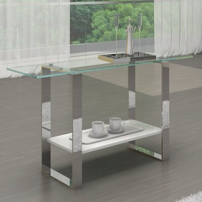 Casabianca Furniture Clarity Console Table