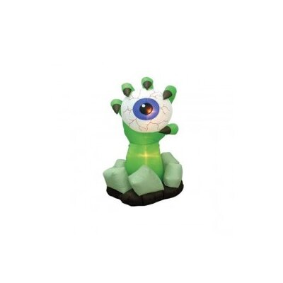 BZB Goods 6' Halloween Inflatable Monster Hand with Eyeball