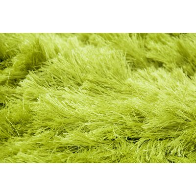 Elements Neon Lime Green Rug