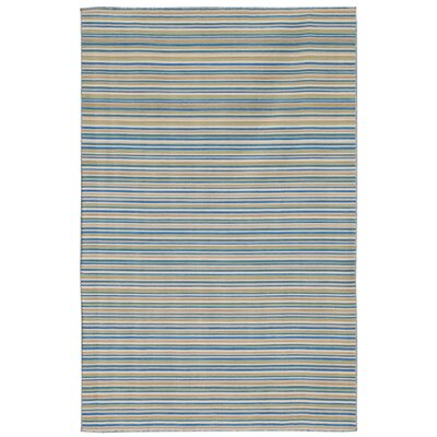 Coastal Living™ by Jaipur Rugs Dhurries Malibu Pastel Blue Rug