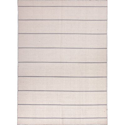 Coastal Living™ by Jaipur Rugs Coastal Living(R) Dhurries White Stripe Rug