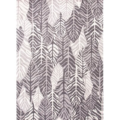 Coastal Living™ by Jaipur Rugs Coastal Living(R) Hand-Tufted Gray Floral Rug