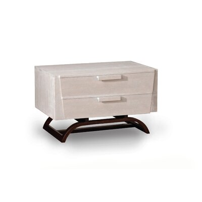 JS@home Sheridan Road 2 Drawer Nightstand