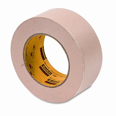 "3M General-Purpose Masking Tape, 2"" x 60 Yards, 3"" Core, Natural"